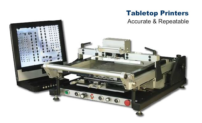 Accurate and Reliable Tabletop Printers